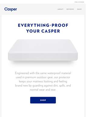 The latest addition to the Casper product family