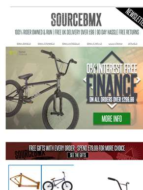 Get a brand new bike today, pay later! ??