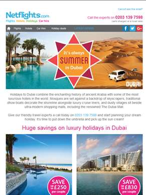 Discover Dubai for less - Holidays from just £419pp