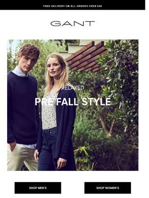 Relaxed Pre Fall Style | Free delivery on all orders over £50
