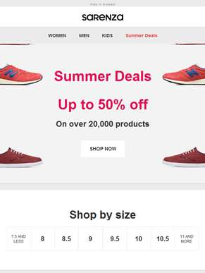 Summer Deals! Up to 50% off thousands of products ??