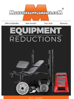 Equipment Reductions