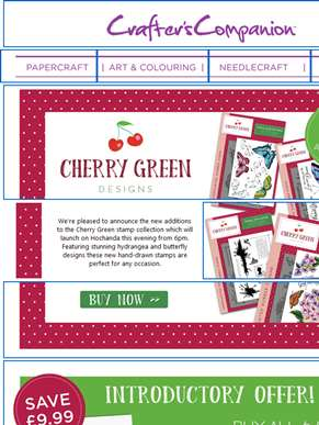 Beautiful new stamps from Cherry Green!
