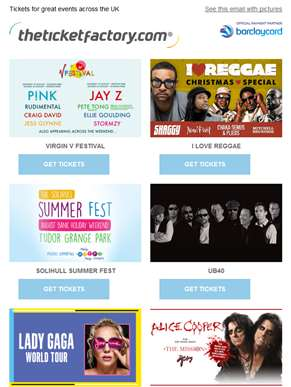 Virgin V Festival, I Love Reggae, Solihull Summer Fest, UB40 & much more…