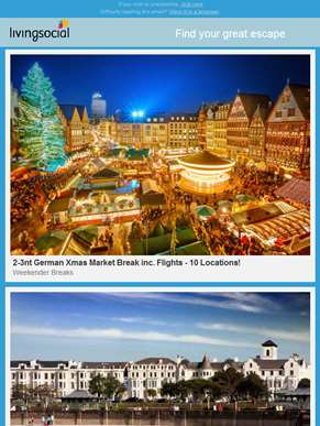 2nt Southport Stay for 2 | 2-3nt German Xmas Market Break | Greens at Gretna Hotel Stay for 2 | 5nt