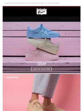 New Colorways of the GSM