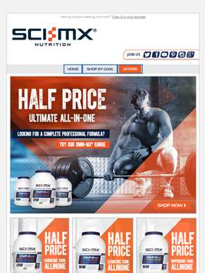 Select OMNI-MX Now HALF PRICE.