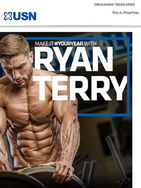 Make it #YourYear with Ryan Terry...