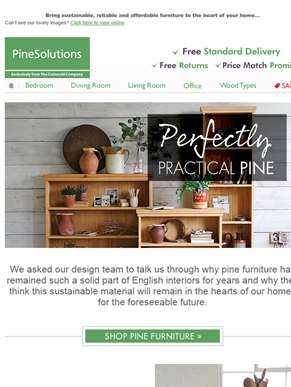 Home Perks to Furnishing With Pine