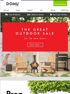 The Great Outdoor Sale