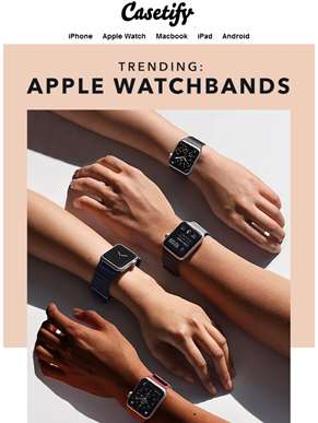What's Trending: Apple Watch Bands?