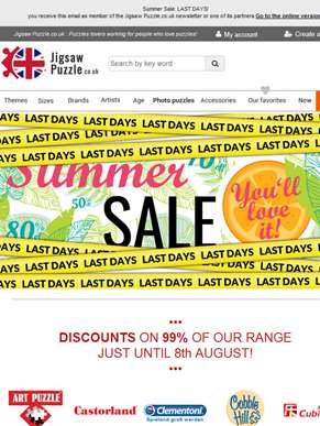 Summer Sale: LAST DAYS!