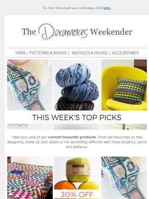 Top Picks, Tutorial Videos + Latest Stitch Of The Week Inside...