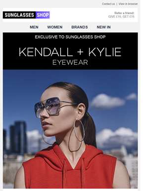 UK Exclusive: Introducing Kendall + Kylie sunglasses