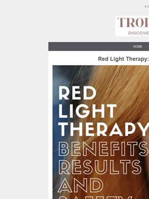 Red Light Therapy For Anti-Aging Treatment