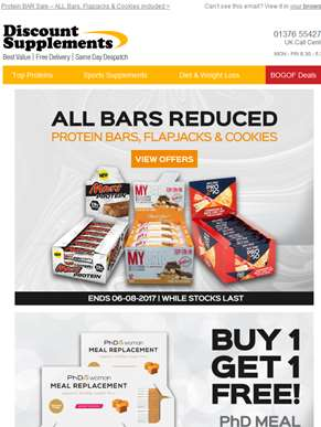 Crazy Protein BAR Sale
