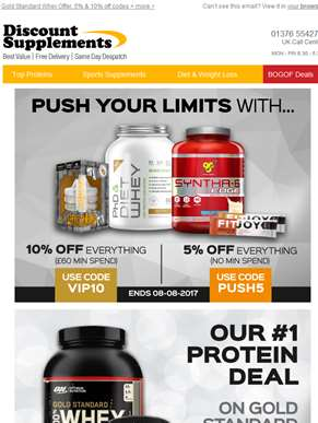 Optimum Nutrition – 2 AMAZING Protein Deals