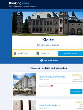 Deals in Kielce from £15