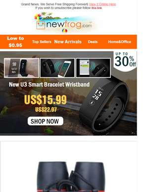 Lucky You! Smart Bracelet Only $15.99! Catch It Now!