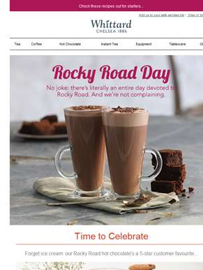 How to celebrate Rocky Road Day?