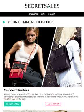 Your Summer Lookbook: Strathberry Handbags, Melissa Odabash and Tom Ford Sunglasses