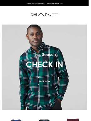 Check In | 4 Ways to Wear Checked Shirts this Season
