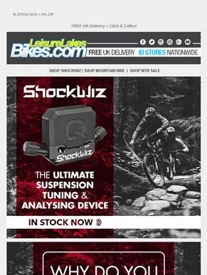 SHOCKWIZ - The ultimate suspension tuning device...