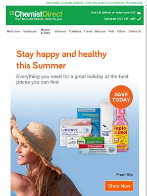 Stay happy and healthy this Summer ??| Extra 5% off