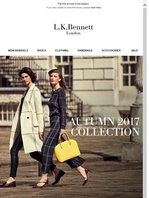 It's Here! Our New Autumn Collection