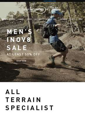 Inov8 Sale | Get At Least 50% Off