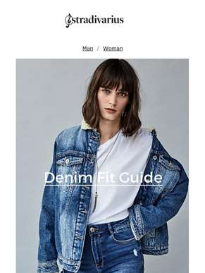 Discover our Denim Fit Guide