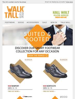Update your style with our smart footwear