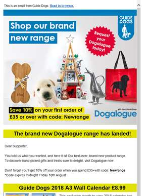The brand new Dogalogue range is here!