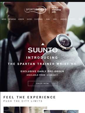 What's New This Week | Featuring Suunto & Reebok