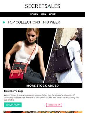 ?? Limited availability confirmed: exclusive offers on Strathberry Bags, Elizabeth Hurley Beach and