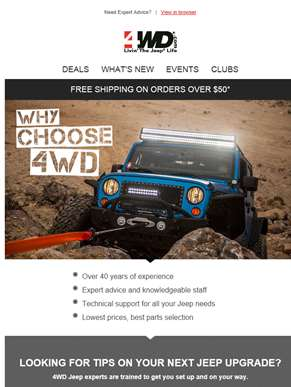 Have a question? Ask your Jeep experts.