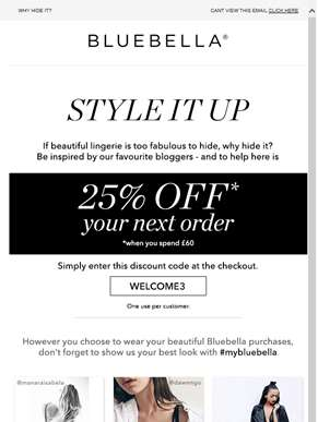 Show us your best look – with 25% off