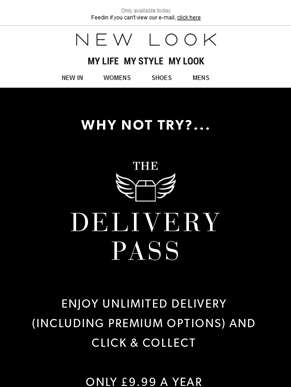 £10 off when you buy the Delivery Pass