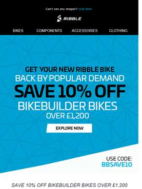 ?? SAVE 10% ON BIKES IS BACK ??