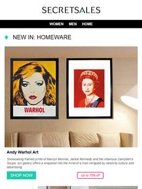New for the Home: Andy Warhol Art, Orthopaedic Mattresses and Grill Bot