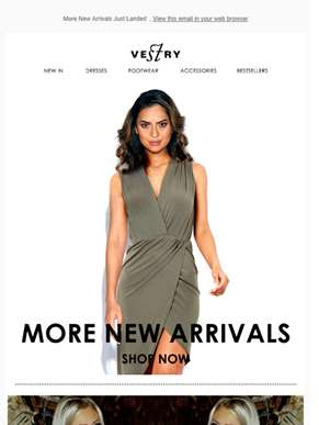 More New Arrivals Just Landed