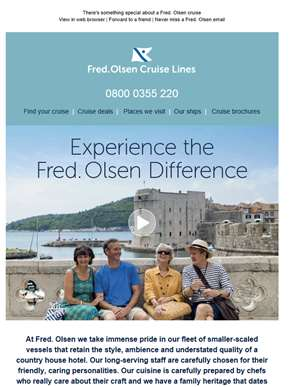 Experience the Fred. Olsen Difference