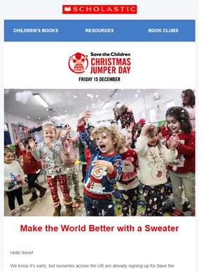 Christmas Jumper Day is back!