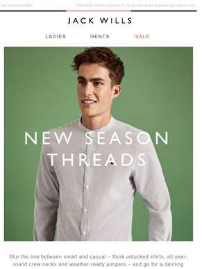Introducing our New Season arrivals