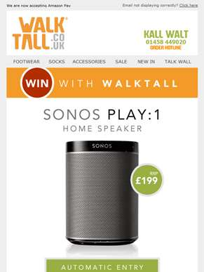 Exclusive competition: Win a Sonos home speaker