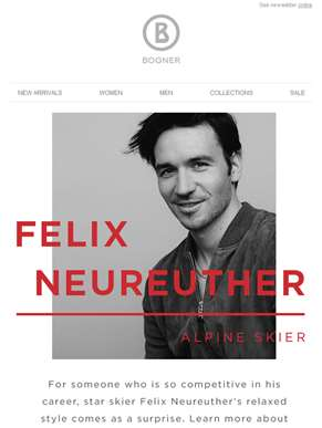 Inspired by Felix Neureuther, Alpine Skier
