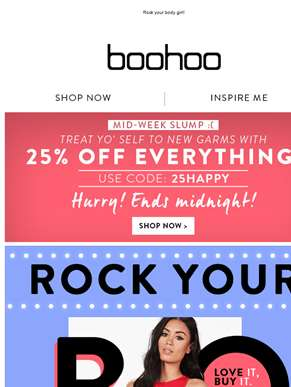 25% Off Everything! Say Whaaat?