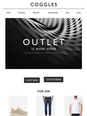 OUTLET now open
