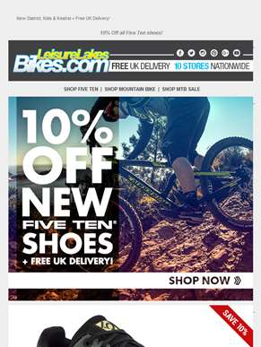 NEW Five Ten Shoes + 10% Off! ??