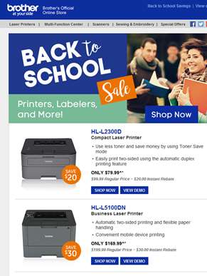 Time's running out! Back to School Sale ends Saturday